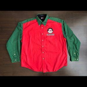 Tommy Hilfiger Alpine Embroidery Collar Shirt